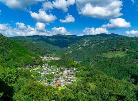 山と共にある自然豊かな暮らし