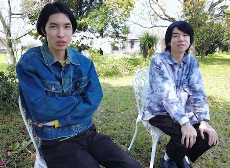 (左)轟木 凌也さんと(右)比志島 隆太さん