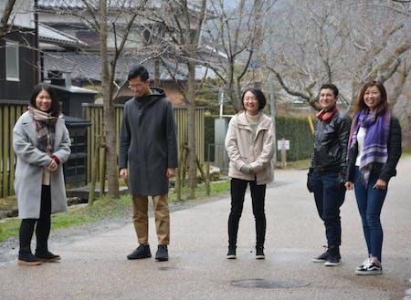 朝倉市では、現在、5人の地域おこし協力隊員が活動中です。