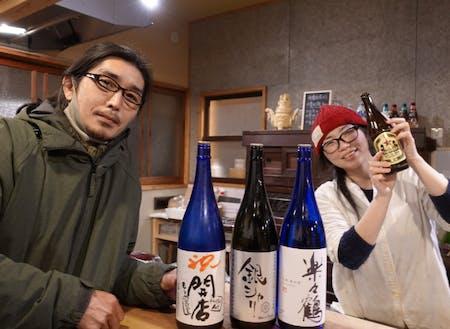 協力隊として3年活動後、パートナーと一緒にゲストハウス「Hostel Act」を開業された岡田さん