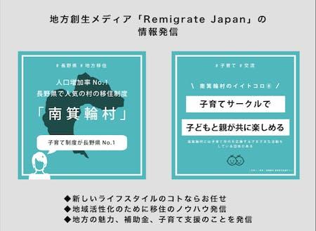 地方移住を応援するメディア「Remigrate Japan」