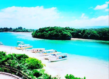 世界屈指の美しさ川平湾