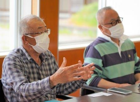 「田根地区・地域づくり協議会」の代表理事を務める川西章則さん
