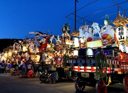 熊石地域の伝統的祭り。