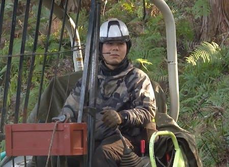 林業大学校1期生として学んだ相原さん