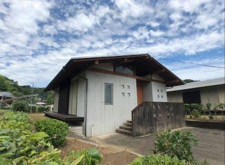 平成7年に建てられた住宅。おしゃれで現代的な外観