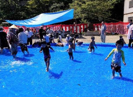 子どものための夏祭り@夜狩内地区