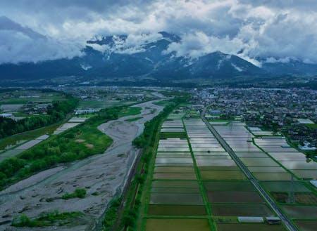 自然と農が調和した地域