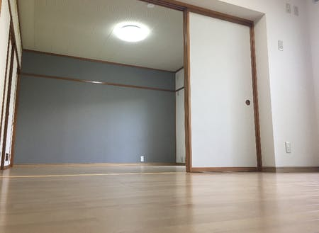 3DKタイプの居室のダイニング