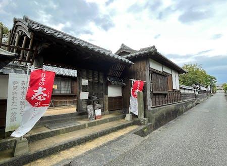 城下町の中にあるが、観光客はそれほど多くない。