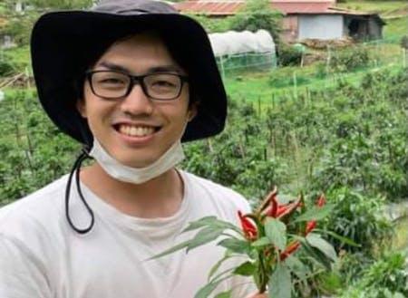 真っ赤な柚胡椒を作る:佐藤紅商店の佐藤さん