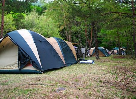 祭りの前日はキャンプで楽しみましょう!