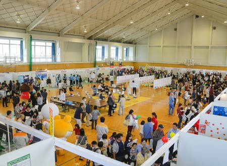 約5000人が来場「勝央工業団地オープンファクトリー」