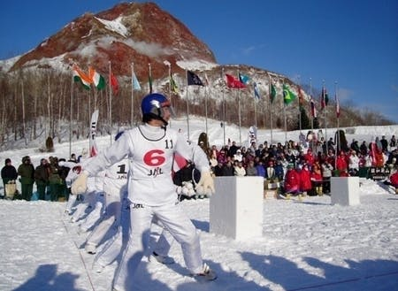 全世界から人が集まる国際雪合戦発祥の地