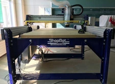 木工製品を切削する機械ShopBot