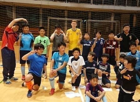 地域の少年団活動の指導者として、練習をしたり試合の引率へ行ったりしていました! 地域の子供たちと一緒に活動を通じて町民と交流を深めるきっかけにもなってました♪