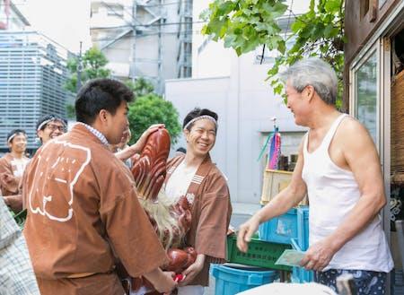 東京都墨田区 高木神社例大祭