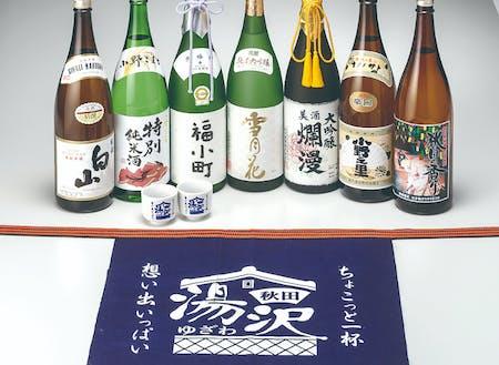 城下町の名残から、1つの街に4つの酒蔵が集結しているユニークさ。お米と水が甘い湯沢では、日本酒も甘く華やかな味が特徴的です。