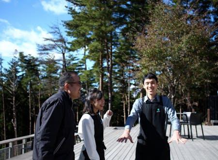 スタッフのなかには、陸前高田市の外から移住した方も数名います。
