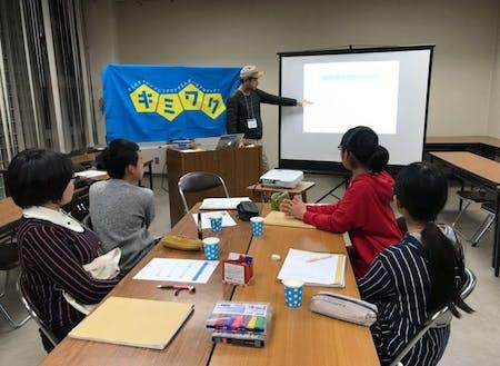 授業講師はカリキュラムに沿うように大人が得意分野を持ち寄って行います