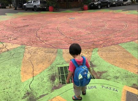 シティリペアの交差点を訪問