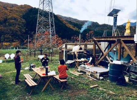 山田さんが創り出すエココミュニティの風景