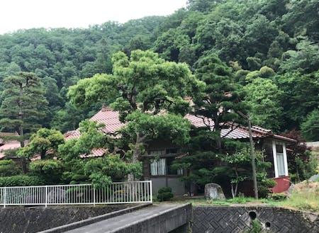 今年の「教室」は旧三江線宇都井駅のすぐそばにある元医院