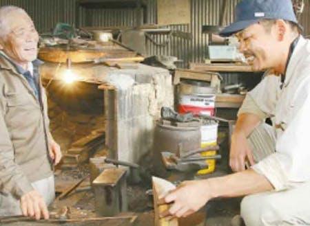 十和地区コース 菊池さん 鍛冶屋見習いとして師匠に弟子入り!