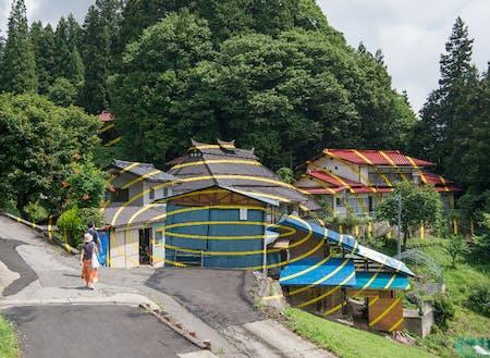 フェリーチェ・ヴァリーニ「集落のための楕円」2017年