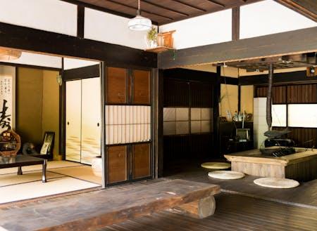 人気急上昇中の古民家民泊「奥湯来田舎体験ハウス」