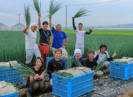 外国人研修生も受け入れている「ねぎ」「水菜」の生産者さん