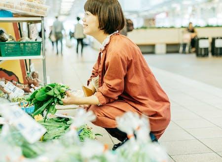 農村で採れた野菜が気軽に便利に手に入ります