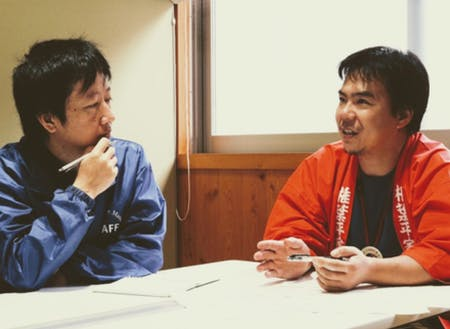 椎葉村メンバーの椎葉 豊さんと村上 健太さん
