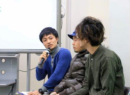 ゲスト同士のトークセッション(昨年)