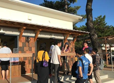 父母ケ浜ポートで地域事業の勉強会