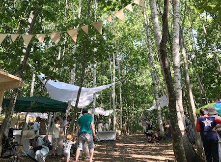 毎年、町民有志の集まりでつくり上げるイベント『森ジャム』