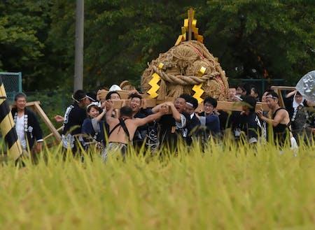 野沢地区の祭礼