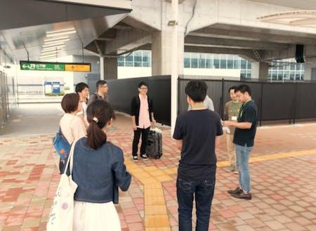 最寄り駅のJR山下駅は仙台から40分ほど