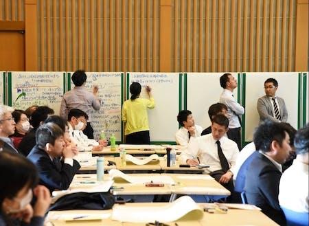 東京でのワーキング会議