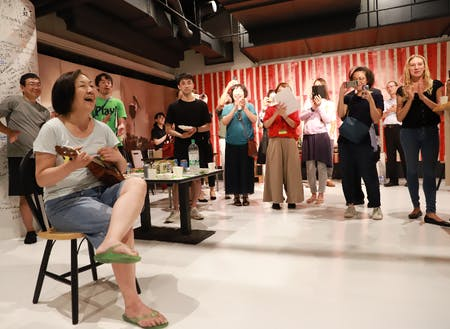 第0回豊岡演劇祭クロージングセレモニー(アートセンター)