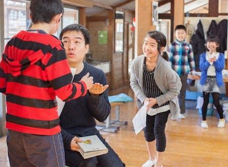 演劇的手法を用いたコミュニケーション教育