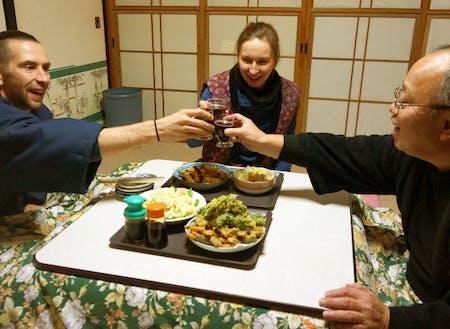 日本文化に興味のある外国の方にも、人気の体験です。