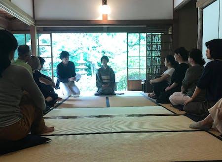 浄智寺での座禅体験