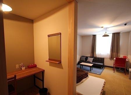 居住、宿泊設備も完備