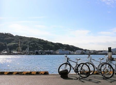 尾道はサイクリングが気持ちいいしまなみ海道のスタート地点。