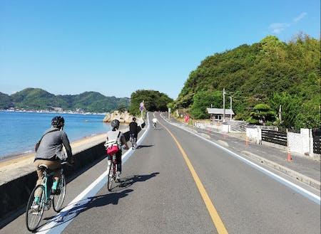 最近では島の移住も人気。いろんな風景が楽しめるのが尾道の魅力