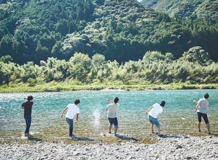 川遊びもたくさん!!