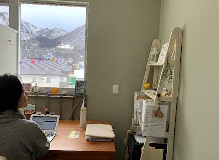 当オフィスに入居中のデザイナーさんも仲間が増えることに期待中