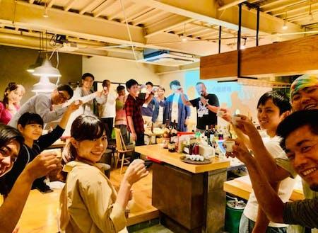 街と田舎の交流会 in 大阪の様子