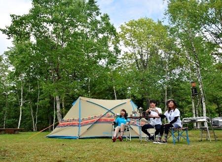 休止キャンプ場を地域おこし協力隊がリニューアル